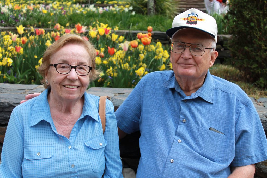 Marie and Robert Jarrett, married 50 years